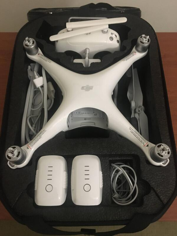 DJI Phantom 4 Pro with Drone Bag Image #1