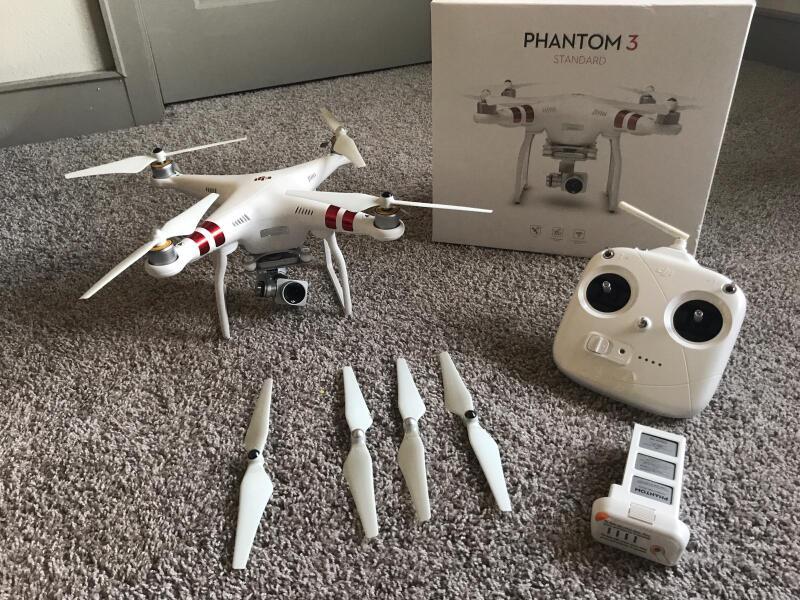 Drone for Sale-Phantom 3 Standard Image #1