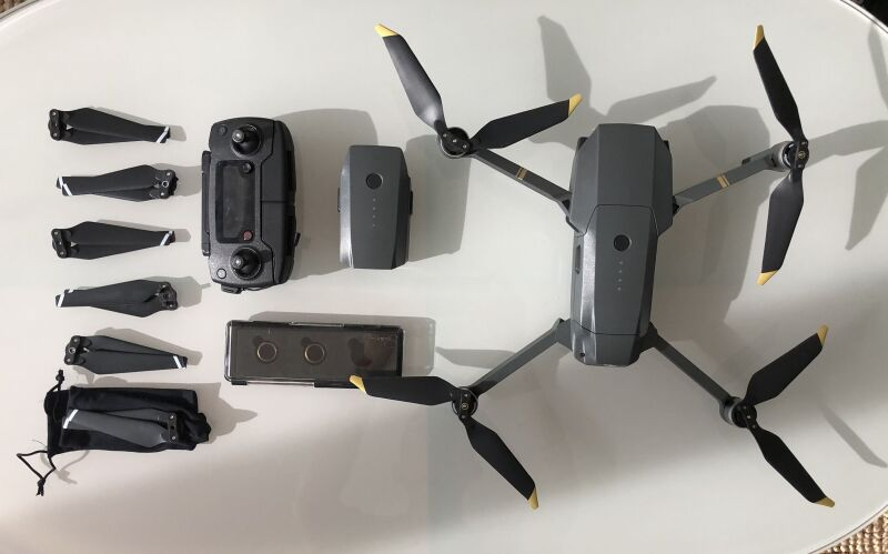 Mavic Pro + Extra Battery + PolarPro ND filters + Low Noise Props Image #1