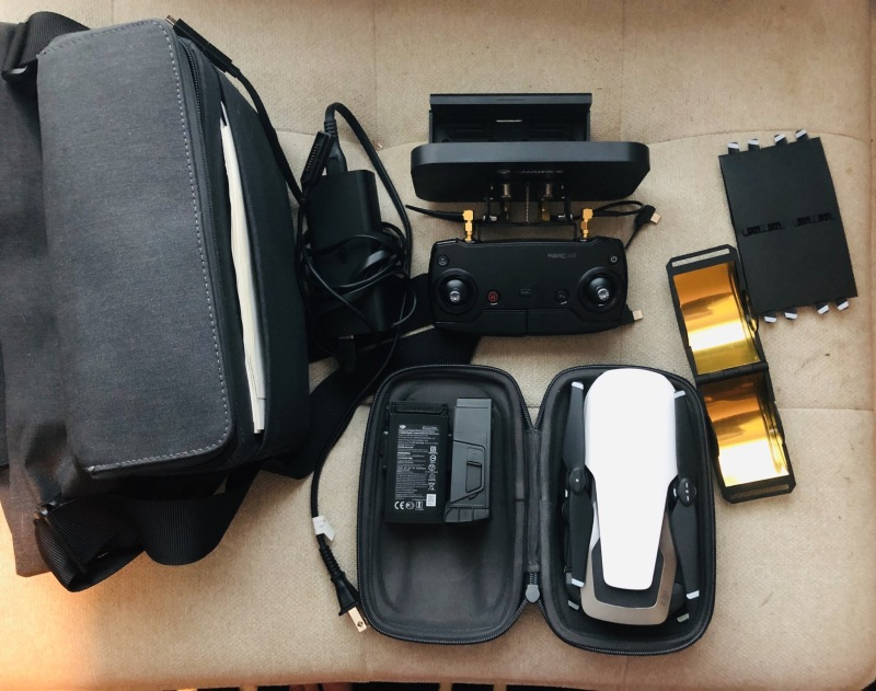 DJI Mavic air, with a lot of extras. Image #1
