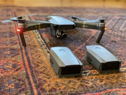 ~EXCELLENT CONDITION~ DJI MAVIC PRO W/ FLY MORE BUNDLE (3 Batteries, Extra Propellers, Soft Carry Case, Etc) Image