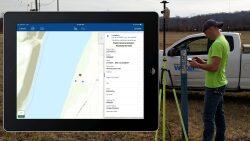 Survey grade Ground Control GPS: EOS Arrow Gold GPS receiver and pole Image #4