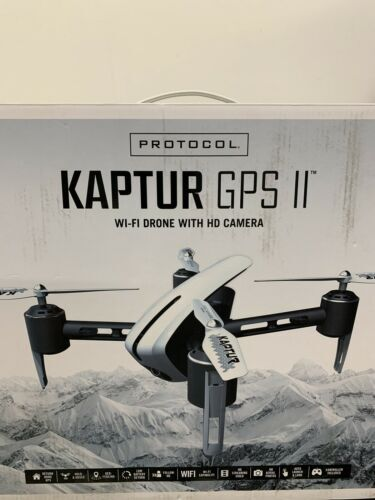News Protocal Kaptur GPS II Wi-Fi Drone with HD Camera Image #1