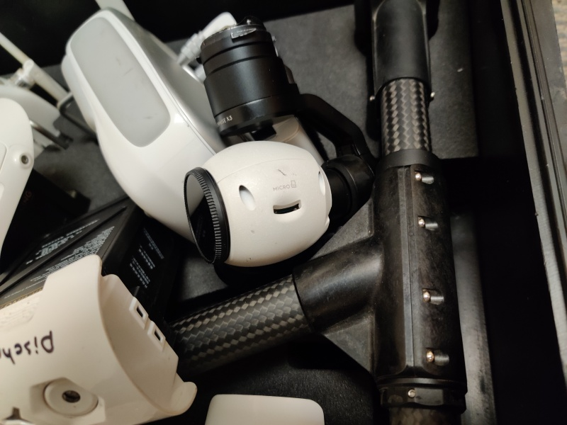 DJI Inspire 1 With Zenmuse X3, 6 Batteries, Dual Controllers and a TSA Approved Hard Case Image #1