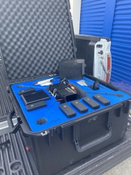 DJI Matrice 100 barely used Dual battery setup with X5 camera and lots of accessories Image