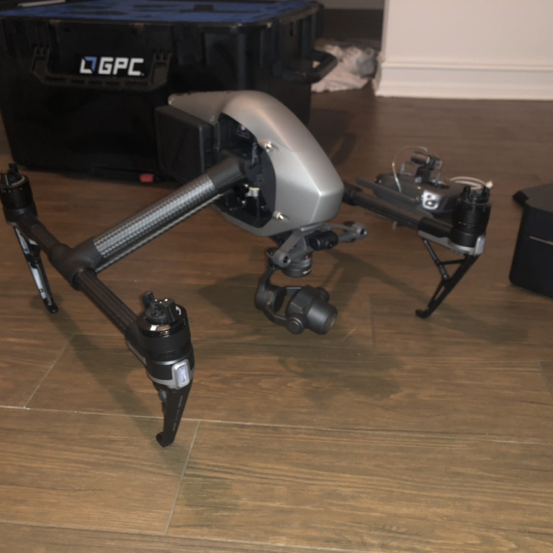 *BRAND NEW* Inspire 2 with X4s Camera and Waterproof Travel GPC Case Image #1