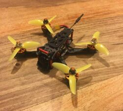 """Custom 3"""" fpv freestyle/racing drone (sub 250g) FrSky XM SBUS receiver Image"""