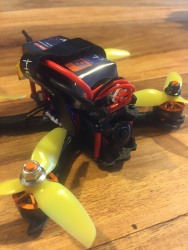 """Custom 3"""" fpv freestyle/racing drone (sub 250g) with FrSky XM SBUS receiver Image #4"""