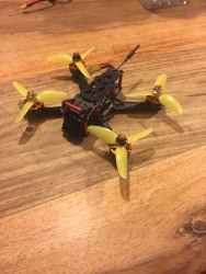 "Custom 3"" fpv freestyle/racing drone (sub 250g) with FrSky XM SBUS receiver Image #2"