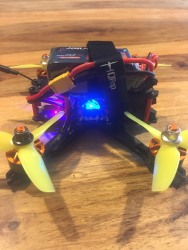 "Custom 3"" fpv freestyle/racing drone (sub 250g) with FrSky XM SBUS receiver Image #3"