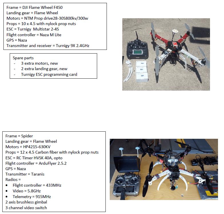 Two UAVs cheap Image #1