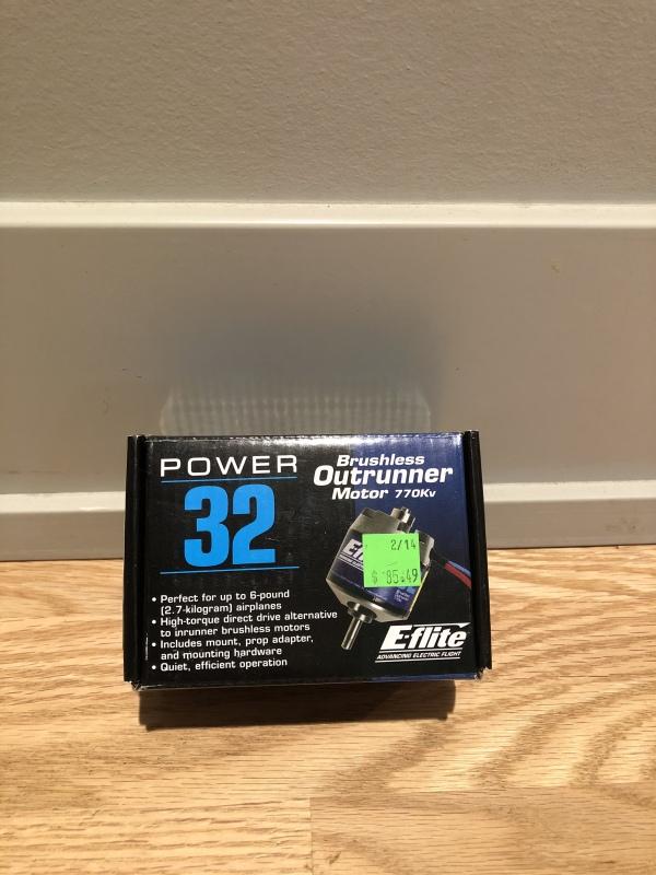 E-Flite 770kV Brushless Outrunner Motor Image #1
