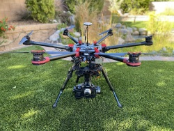 DJI S900 Drone Hexacopter Aerial Video Complete Setup Image