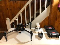 DJI Matrice 100 thermal infrared mapping drone, ICI 9640 P-series camera Image #2