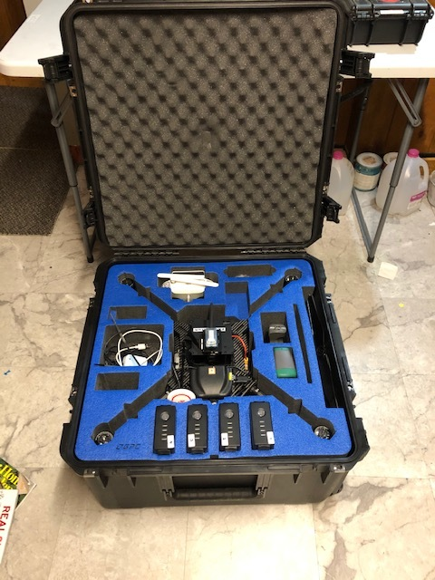 DJI Matrice 100 thermal infrared mapping drone, ICI 9640 P-series camera Image #1