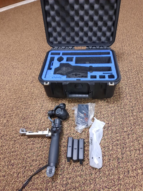 DJI Osmo with ZenMuse X3 camera and case Image #1