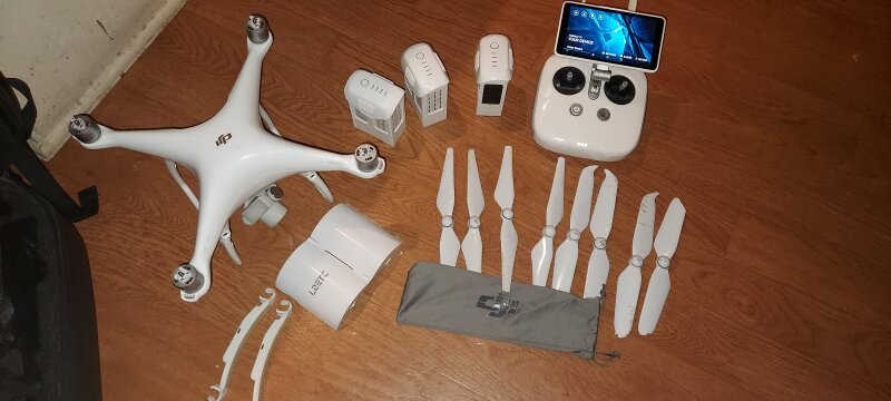 DJI Phantom 4 PRO+ Plus Quadcopter Ultimate On-The-Go Bundle Image #1
