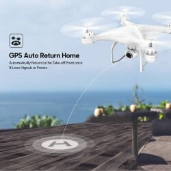 Potensic T25 Drone 1080P HD Camera RC Quadcopter FPV GPS Drones Image #2
