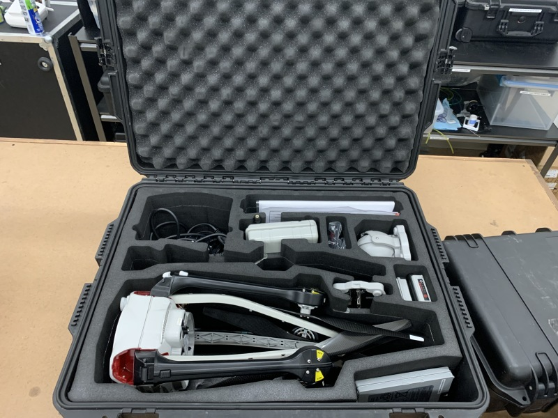 Aeryon Skyranger With Multiple Payloads and Batteries Image #1