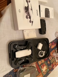 MINT DJI Spark Alpine White with Remote Control, 2 batteries and UNOPENED battery charger Image #2