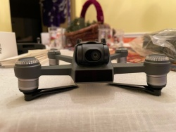 MINT DJI Spark Alpine White with Remote Control, 2 batteries and UNOPENED battery charger Image #3