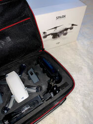 DJI Spark Fly More Combo 1080p Camera Drone - White AND EXTRA CONTROLLER Image #4