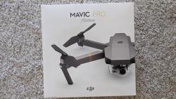 DJI Mavic Pro Platinum (Only 9 battery charges) + Hard shell carrying case + Landing pad - PRISTINE CONDITION Image