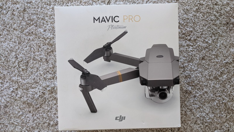 DJI Mavic Pro Platinum (Only 9 battery charges) + Hard shell carrying case + Landing pad + BRAND NEW MavMount - PRISTINE CONDITION Image #1