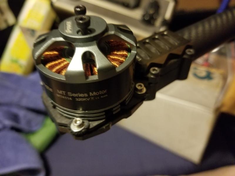 Multimate MT4114 320kv brushless motor Image #1