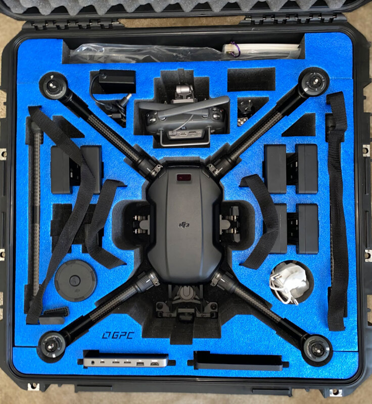 DJI Matrcie 200 Thermal Imaging Package - Like New Image #1