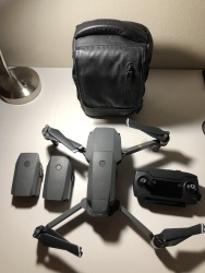 Mavic Pro - three batteries, case, nd's included! Image