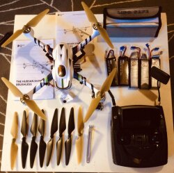 Drone Hubsan H501s X4 FPV & Go Pro Hero 3 Image #3