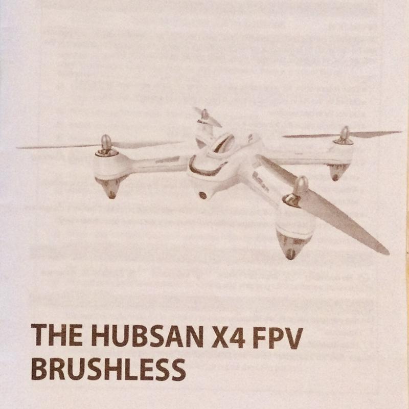 Drone Hubsan H501s X4 FPV & Go Pro Hero 3 Image #1