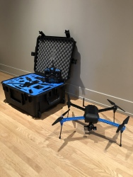 IRIS+ Quadcopter Drone with Case Image