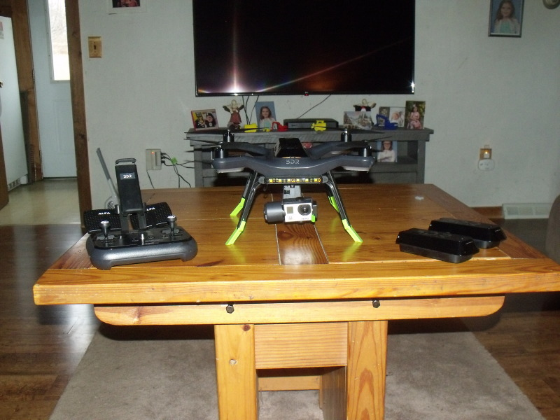 3DR Solo with GoPro 3 Camera Image #1