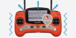 Splash Drone 3+ %100 Waterproof Drone-Brand new 4K PL4 Gimbal Camera Image #3