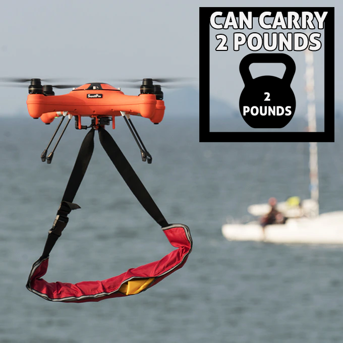 Splash Drone 3+ %100 Waterproof Drone-Brand new 4K PL4 Gimbal Camera Image #1
