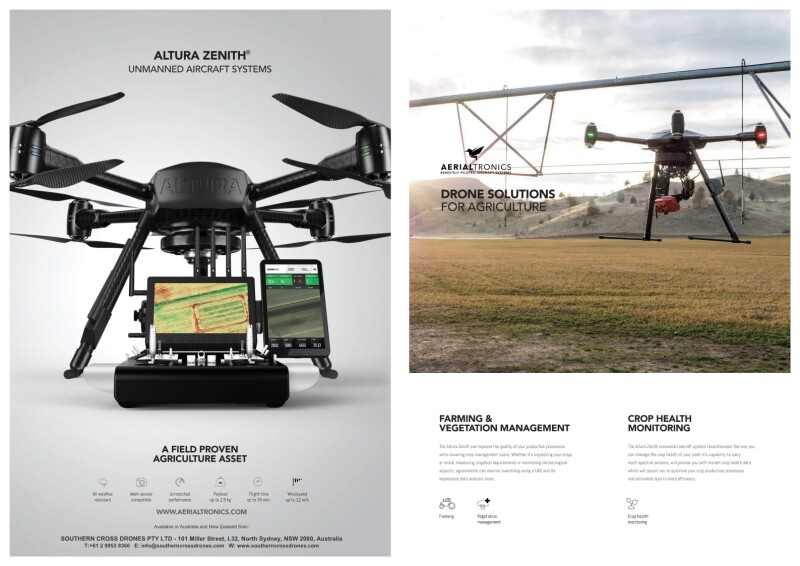 Aerialtronics Altura Zenith RTF Agriculture NO Pix4D Model # ZEN-ATX8-RTF-F002 Image #1