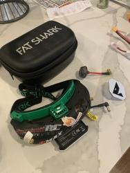 Fat Shark goggles & Immersion VORTEX Mojo 230 racing quad Image #4