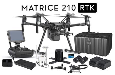(New) DJI Matrice 210 RTK V1 Complete Drone Kit plus extra sensors Image #1