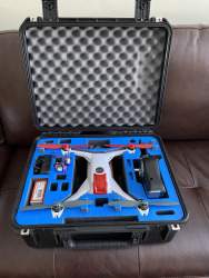 Very lightly used Blade Drone 350QX, accessories, and custom hard case Image
