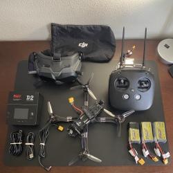 Stingy V2 Forged HD DJI FPV Drone (6s Version) - DJI FPV Goggles - DJI FPV Remote Controller Image