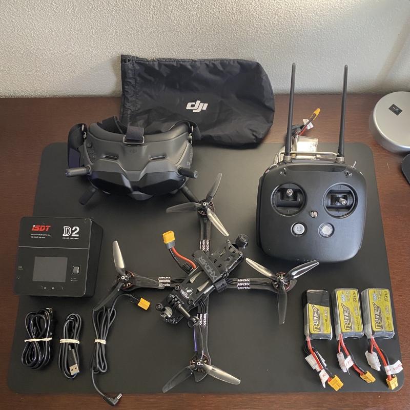 Stingy V2 Forged HD DJI FPV Drone (6s Version) - DJI FPV Goggles - DJI FPV Remote Controller Image #1