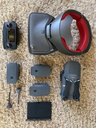 DJI Mavic Pro with racing goggle and extras Image