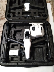 DJI Inspire 1 V2.0 Drone, Controller, Battery, Charger and GPC Case, very good condition Image #4