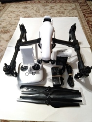 DJI Inspire 1 V2.0 Drone, Controller, Battery, Charger and GPC Case, very good condition Image #3