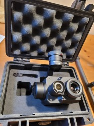 DJI 640x512 XT2 Dual  Sensor Thermal Camera Image