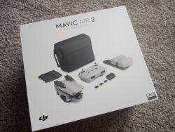 Never Used  DJI MAVIC AIR 2 COMBO // original box and accessories included. Image