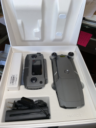 Mavic 2 Pro in mint condition - less than 5 hrs flight.  In box with all accessories Image