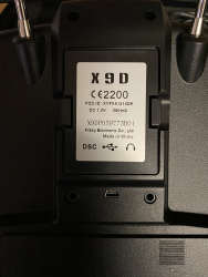 FrSky Taranis Plus X9D in soft case Image